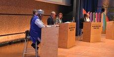 Le débat entre responsables et maires de Montpellier, Ouagadougou, Quelimane, Cordoba et New York City
