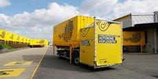 Présentation d'un camion autonome utilisé par la poste de Vienne (Autriche).