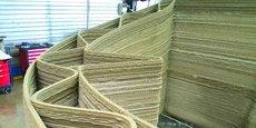 En imprimant de nombreux matériaux (argile, granulats, plâtre, etc.), XtreeE s'est spécialisée dans la construction hors site de produits sur mesure.