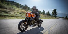 La Harley-Davidson LiveWire.
