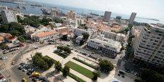 La Place de l'Indépendance à Dakar, la capitale du Sénégal.