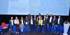 Les lauréats, partenaires et invités d'honneur de cette 6e édition de La Tribune Wine's Forum