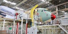 Airbus a annoncé lors de son comité européen ce mercredi 21 avril le rapprochement avec ses filiales d'aérostructures, Stelia en France et Premium Aerotec en Allemagne.