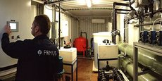 L'entreprise héraultaise Firmus recycle les eaux grises, notamment pour la base antarctique Concordia.