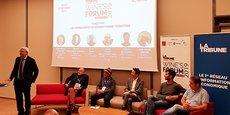 Première table ronde de La Tribune Wine's Forum, le 17 octobre 2019 à Nîmes.
