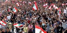 LES LIBANAIS MANIFESTENT EN MASSE LEUR COLÈRE CONTRE LEURS DIRIGEANTS
