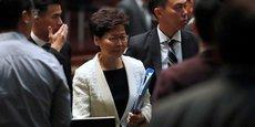 HONG KONG: LAM JUSTIFIE L'USAGE DE LA FORCE FACE AUX MANIFESTANTS