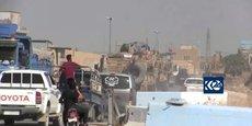 LES SOLDATS US SE RETIRANT DE SYRIE ATTENDUS EN IRAK