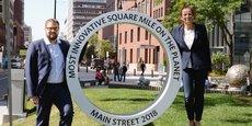 Séverine Sigrist, présidente de Defymed, et Manuel Pires, son directeur du développement, sont venus à Boston en septembre défendre leur projet de levée de fonds.