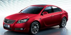 Buick Regal chinoise, une Opel Insignia rebadgée. DR