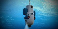 Atoll est l'un des robots sous-marins mis au point par Forssea Robotics