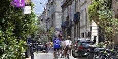 La forte attractivité de Bordeaux (sur notre photo le quartier des Chartrons) porte un marché immobilier où les jeunes cadres franciliens sont influents.
