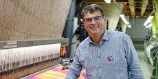 Paul de Montclos est aussi président du syndicat textile de l'Est.