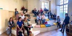 Des formations, des conférences et des ateliers sont organisés autour des thématiques du design.