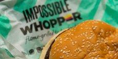 La marque affirme qu'elle devient la plus grosse chaîne de restauration rapide à offrir un hamburger végétarien en Europe.