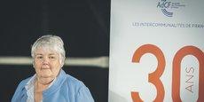 Jacqueline Gourault, ministre de la Cohésion des territoires, le 30 octobre dernier, lors de la convention de l'Assemblée des communautés de France, à Nice. À cette occasion, lui ont été transmises 10 propositions pour accompagner la renaissance des friches.