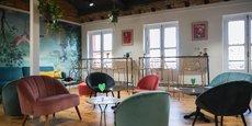 Un restaurant de 300 m2 a ouvert au dernier étage du magasin de déco Midica.