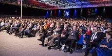 L'Association des maires de France, lors de la 100e édition du congrès de l'AMF, en novembre 2017.