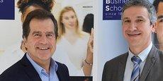 André Deljarry et Bruno Ducasse, respectivement président et DG de MBS.