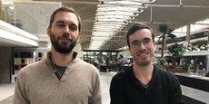 Pierre Colin et Blaise Cavalli, co-fondateurs et CEO de Nyctale.