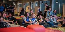 L'Ecla Campus, à Massy-Palaiseau, un nouveau concept de coliving géant pour étudiants, chercheurs et jeunes actifs.