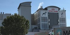 Le siège social de Royal Canin France, à Aimargues (30).