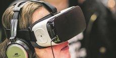 La 5G ouvre la voie à des solutions de virtualisation immersives en 3D via un casque, ou même une tablette.