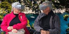 FeelU propose des programmes de réalité virtuelle à destination des seniors.