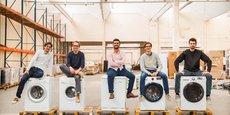 Les cinq cofondateurs de la startup espèrent réaliser six millions d'euros de chiffre d'affaires en 2020.