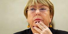 ONU: MICHELLE BACHELET DÉNONCE LA VIOLENCE DE LA RÉPRESSION EN IRAN