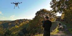 YellowScan est spécialisé dans la cartographie par drones.