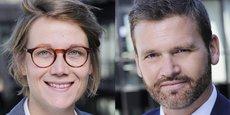 Jennifer d'Hoir et Franck Guiader.