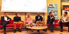 Invités par Crealia à Nîmes, quatre chefs d'entreprises évoquent la question du financement.