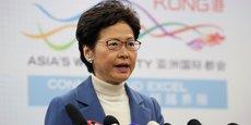 La cheffe de l'exécutif hongkongais Carrie Lam.