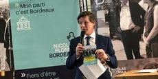 Nicolas Florian, maire de Bordeaux depuis le 7 mars 2019, sera candidat à la mairie en mars 2020