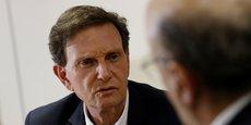 La gestion du maire de Rio de Janeiro, Marcelo Crivella (en photo), est largement critiquée.