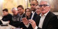 Le candidat aux élections municipales à Toulouse, Pierre Cohen, veut un groupe de travail pour unir les trois listes de gauche entre les deux tours.