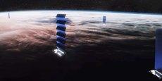 Dans le cadre de son programme Starlink, SpaceX a mis en orbite 120 satellites afin d'améliorer l'accès à Internet.