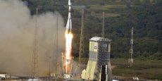 Ariane 6 va chasser Soyuz du Centre spatial guyanais (ici un lancement de Soyuz à Kourou)