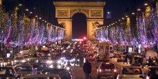 Les Champs-Elysées serait parcouru chaque année par 20 millions de touristes.