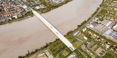 Le pont Simone Veil entre Bordeaux-Bègles et Floirac devrait être mis en service en 2024.