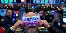 La bonne humeur règne à la Bourse de New York, au passage de la nouvelle année.