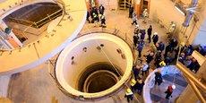 Visite du réacteur nucléaire d'Arak, en Iran, par l'agence de l'énergie atomique iranienne, le 23 décembre 2019.