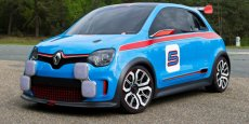 Renault Twin'Run, qui préfigure la future Twingo III