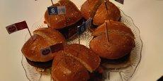 Rilbite fabrique des burgers à partir de six vrais ingrédients végétaux.