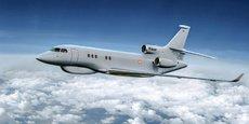 Le programme Archange reposera sur trois Falcon 8X de Dassault Aviation équipés d'une Capacité universelle de guerre électronique (CUGE) développée par Thales