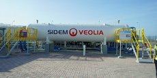 Dans la station de dessalement de Sur, en Oman, Veolia teste en conditions réelles le « barrel », une toute nouvelle technologie censée réduire les risques de dysfonctionnement des membranes ainsi que leur empreinte au sol.