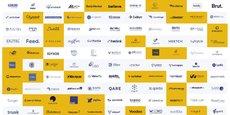 La liste des 123 startups qui composent le French Tech 120.
