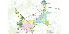Le périmètre de Bordeaux Inno Campus s'étend principalement sur les communes de Pessac, Talence, Gradignan et Bordeaux.