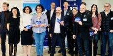 Les lauréats et le jury de l'étape de Toulouse de 10000 startups pour changer le monde